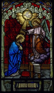 Annunciation window, Lady Chapel, All Saints' Episcopal Church, San Francisco